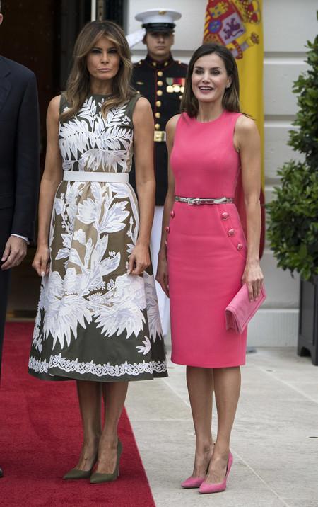 Letizia Con Melania Trump