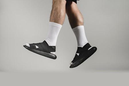 De chanclas glamurosas: Adidas y Yohji Yamamato