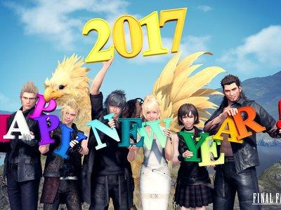 El director de Final Fantasy XV felicita el 2017 con una lista de propositos de año nuevo a cumplir