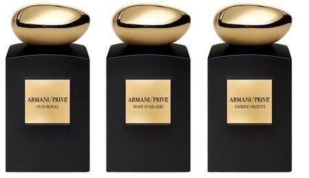 Armani Privé y sus perfumes de alta costura