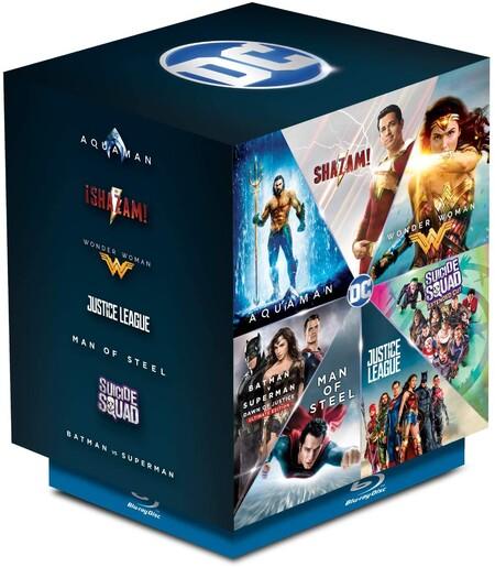 Colección de películas de DC Comics con Batman y Superman en oferta, Blu.ray