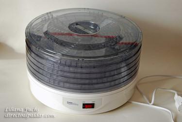 Usar una deshidratadora de alimentos en casa