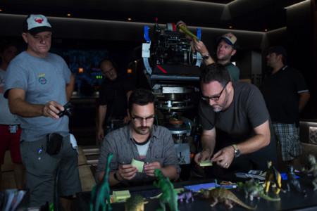 Colin Trevorrow durante el rodaje