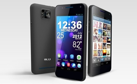 Blu Products presenta el Vivo 4.3, primer smartphone con Dual SIM y Super AMOLED Plus