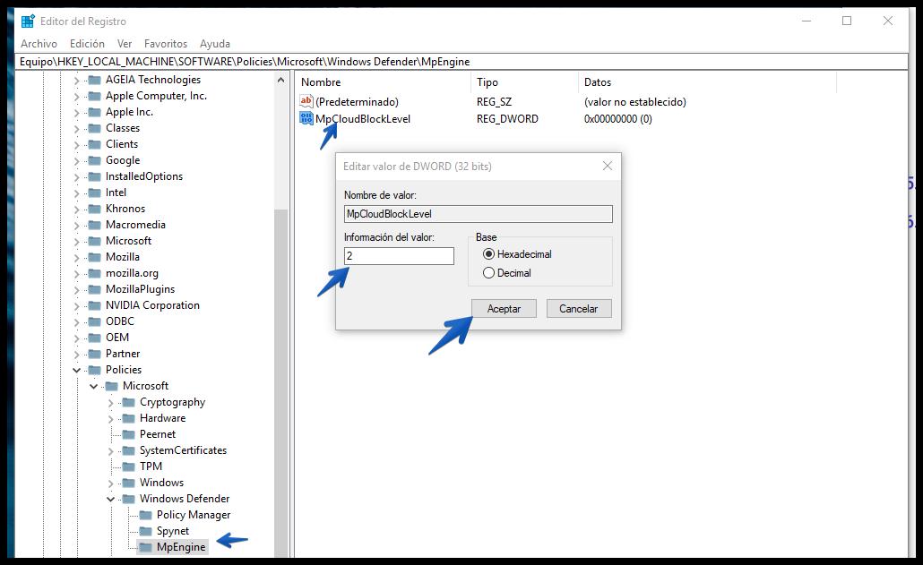 Cómo aumentar el nivel de protección antivirus de Windows