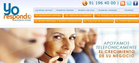 Yorespondo.com telesecretarias y apoyo logístico a pymes