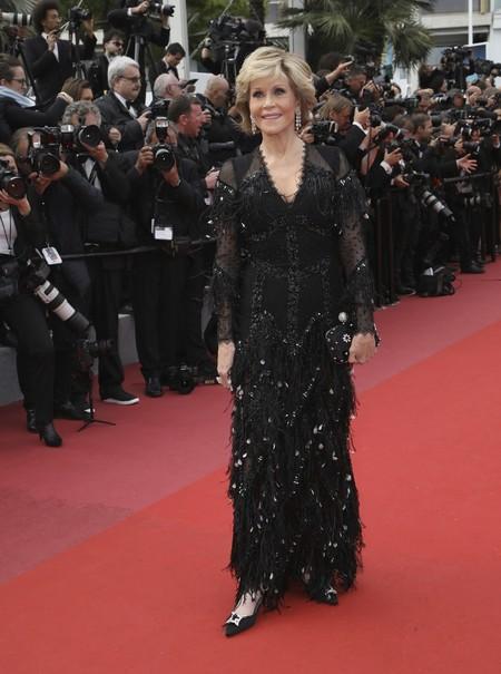 Festival Cannes Jane Fonda Givenchy
