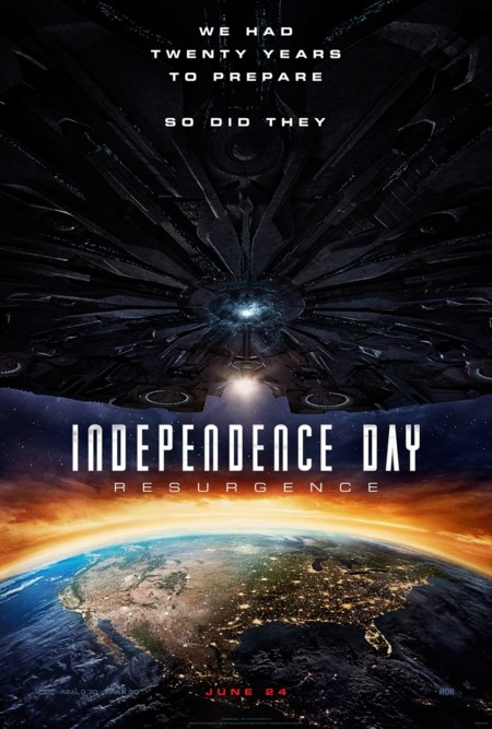 Teaser póster de Independence Day: Contraataque