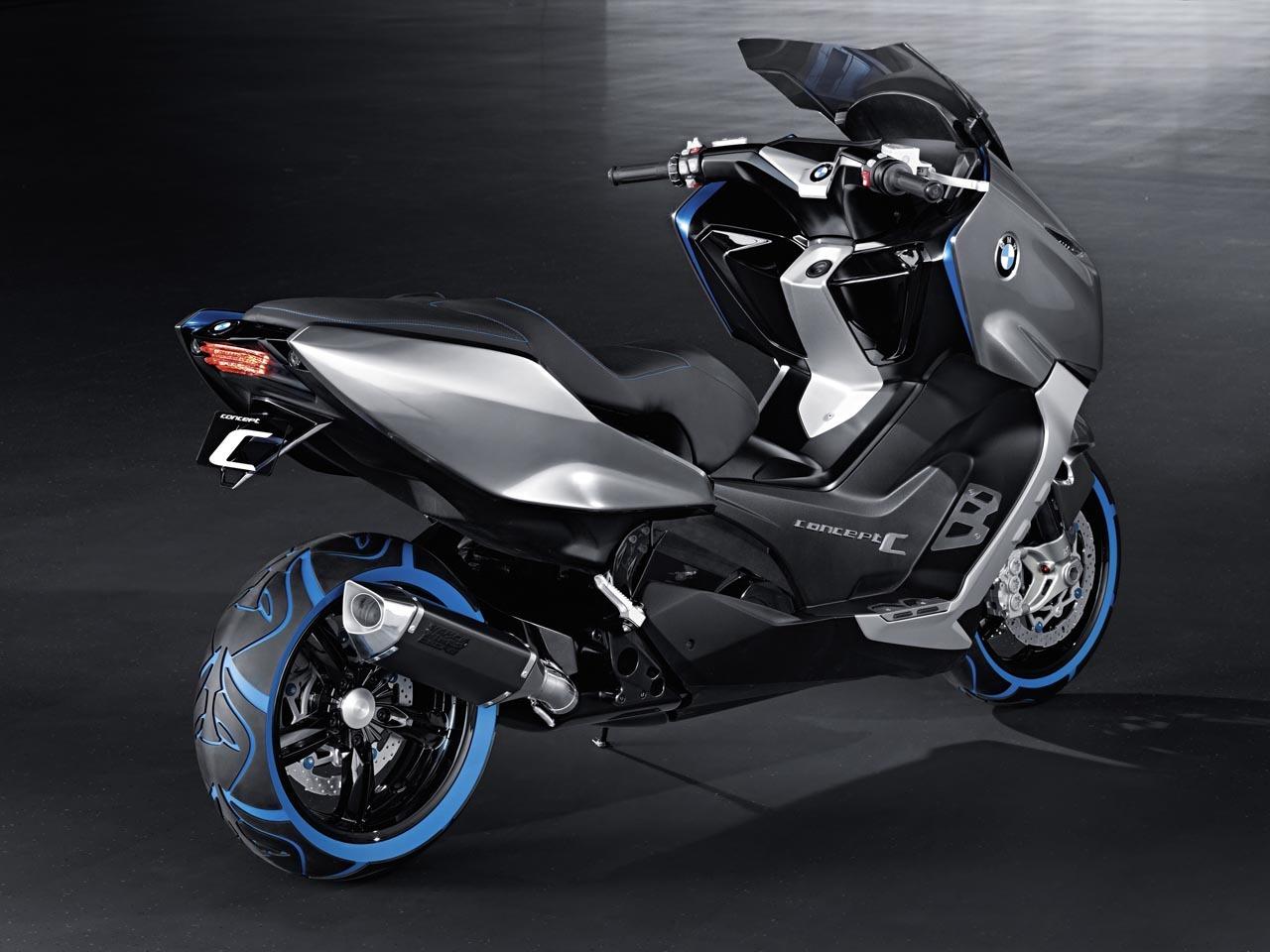 Foto de BMW Concept C Scooter, el Scooter del futuro según BMW (7/19)