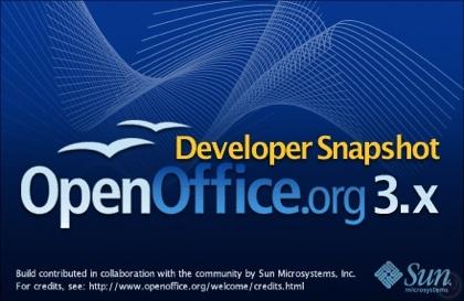 Disponible la primera versión candidata de OpenOffice 3.0