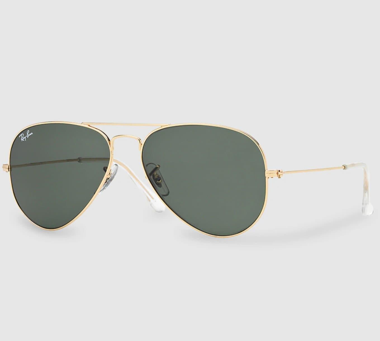 Gafas de sol unisex Ray-Ban Aviator verdes