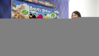 Angry Birds para televisores Samsung con reconocimiento de gestos