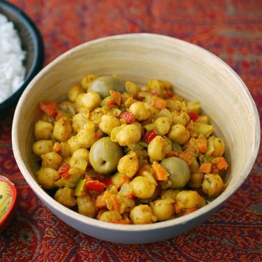 Receta de salteado de garbanzos a la marroquí, fácil y versátil (ideal para táper)