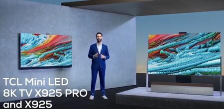 TCL presenta sus impresionantes teles X925 y X925 PRO: MiniLED, 8K, con HDMI 2.1, sonido firmado por Onkyo y Google TV
