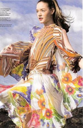 Bouquet, un ramo de moda en Marie Claire