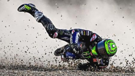 Jorge Lorenzo la vuelve a liar en Instagram: se ríe de una caída de Cal Crutchlow y el resto de pilotos le responden
