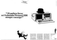 Anuncio portátil IMB 1984