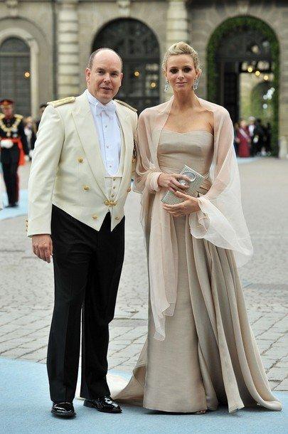 Boda de la Princesa Victoria de Suecia, ceremonia: Charlene