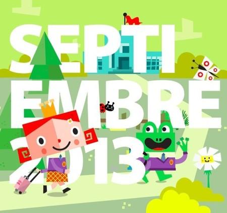 Calendario escolar del curso 2013-2014 de Sapos y Princesas