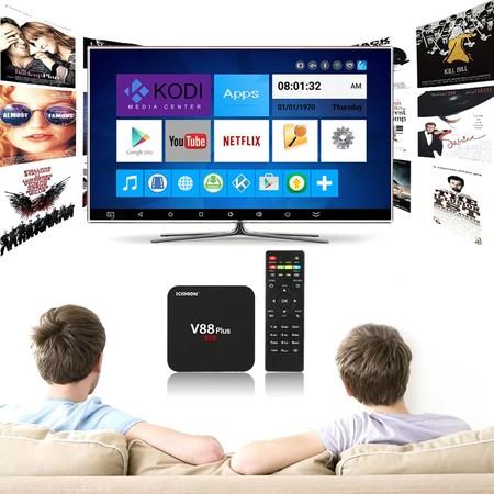 Dale vida a tu televisor con este TV Box Android por 27,16 euros