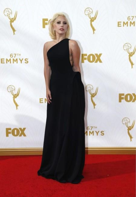 Lady Gaga Emmys 2015 1