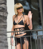 Paris Hilton amenaza