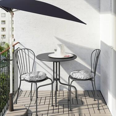 Zara Home, Ikea y El Corte Inglés, nuestros tres favoritos para terrazas pequeñas