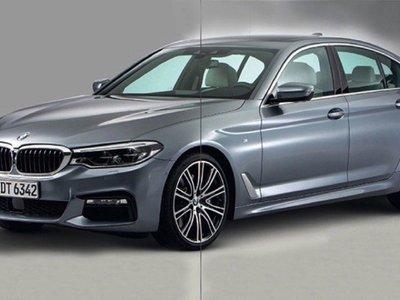 Se filtra el nuevo BMW Serie 5 antes de su presentación y es más Serie 7 que nunca