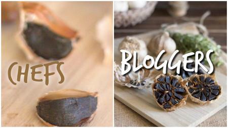 libro cocina con ajo negro