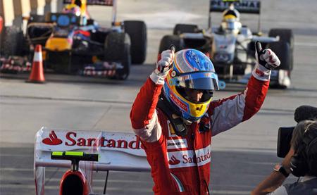 Gran Premio de Bahréin 2010: debut con victoria