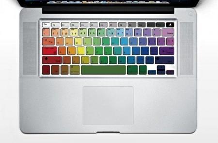 El teclado de tu Macbook hecho arco iris