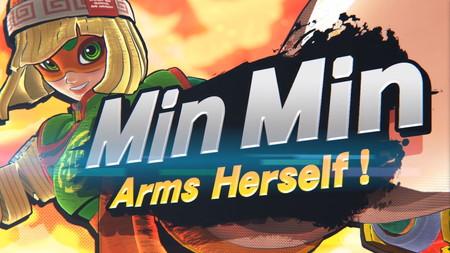 Min Min es el nuevo personaje de ARMS que se unirá a la plantilla de Super Smash Bros. Ultimate la semana que viene