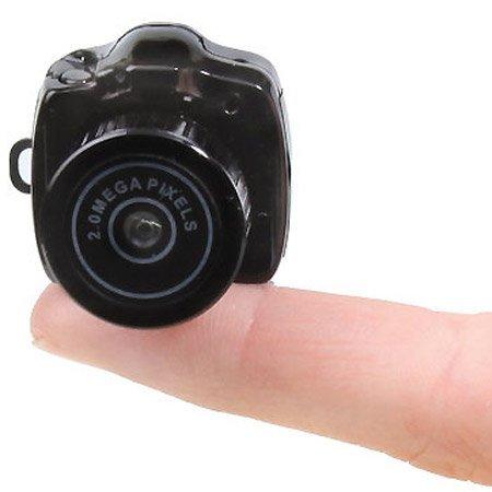 Cámara fotográfica al tamaño de un dedo