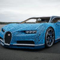Este impresionante Bugatti Chiron está hecho con un millón de piezas de LEGO... ¡y funciona!