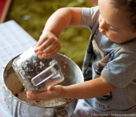Cinco ideas fáciles para cocinar con niños