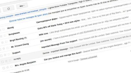 Gmail ya soporta caracteres no latinos y acentos, Calendar le seguirá el paso