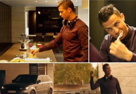 Cristiano Ronaldo ya nos felicita la Navidad