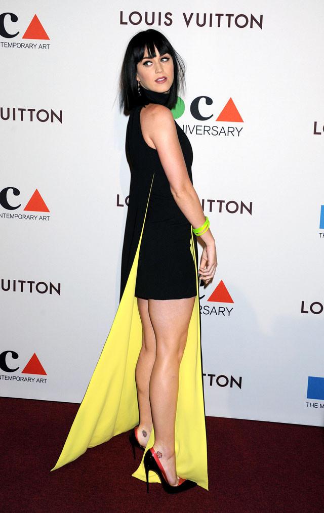 Gala MOCA Los Angeles 2014 35 aniversario Katy Perry Versace