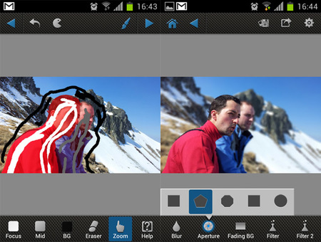 Trabajando en After Focus para Android