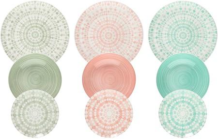 Tognana Me070185598 Gipsy Soft Vajilla 18 Piezas Porcelana