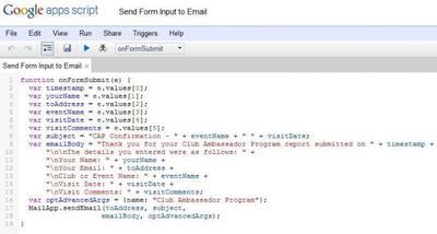 Utilizando Google Scripting con Google Docs
