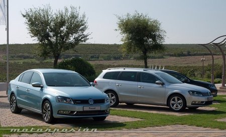 Presentación en Barcelona del Volkswagen Passat 2011