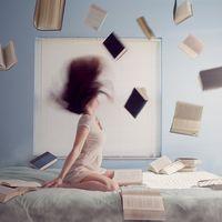 En tu mente puede haber un efecto poderoso y duradero si creces rodeado de libros
