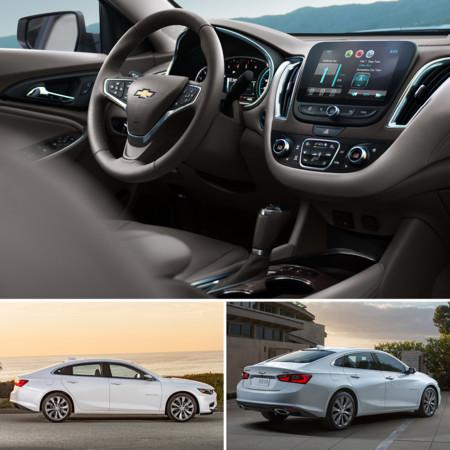 Chevrolet malibu 2016 precios versiones y equipamiento for Malibu precio
