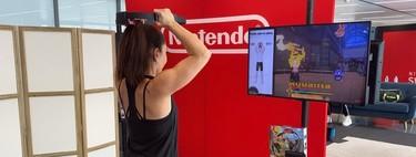 Tres tablas de entrenamiento de diferentes niveles para entrenar en casa con Ring Fit Adventure para Nintendo Switch