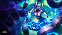 DJ Sona comienza su sesión en las mejores salas de League of Legends