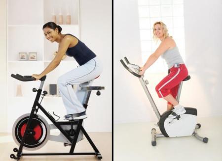 ¿Por qué no debes hacer spinning en una bici estática tradicional?