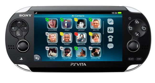Skype PS Vita