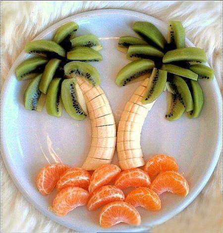 Ideas para que los niños coman frutas