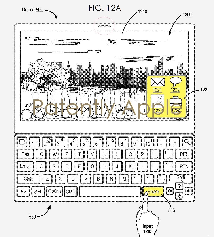 Patente Smart Keyboard 2 Compartir